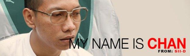 strategi campaign my name is CHAN, selama 5 hari...